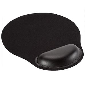 Mouse Pad con GEL INT.CO Negro