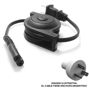 Cable Power Tipo 8 Retractil GTC