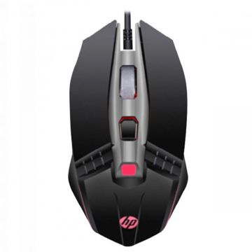 Mouse Gamer HP M270 6 Teclas Negro