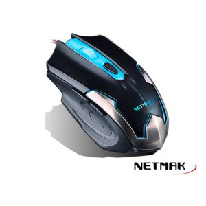 Mouse Gamer NM-ARMOR Netmak Retroiluminado