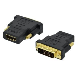 Adaptador DVI-D M (24+1) a HDMI H (09-017) INT.CO