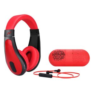 Auricular + Headphone + Parlante Kit NG-A310BT Noga